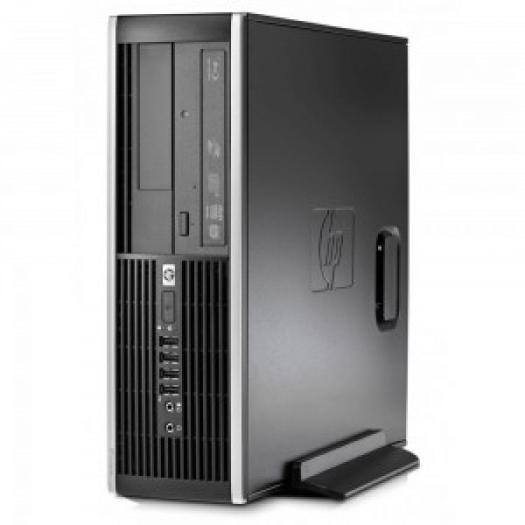 HP Compaq Elite 8200 G620 8GB 480GB SSD 1TB HDD Microsoft Windows 10 Professional Stacionārais dators